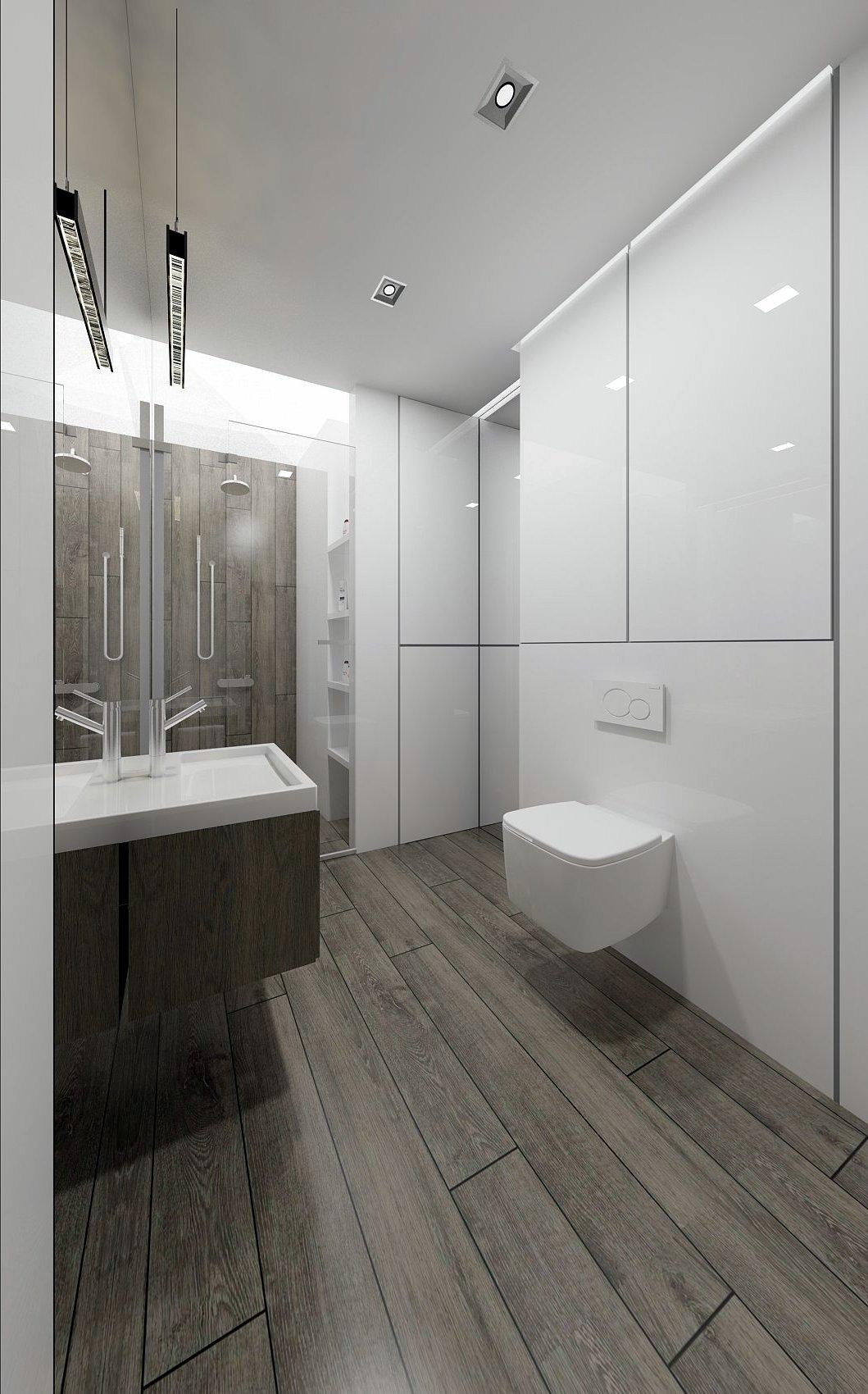 mała łazienka lustro 1